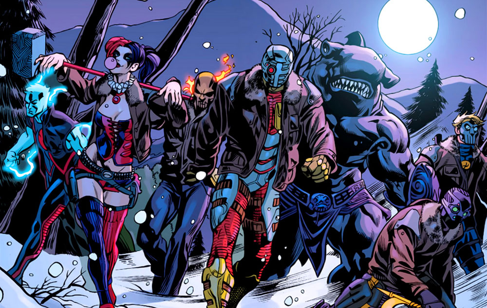 Suicide Squad roster