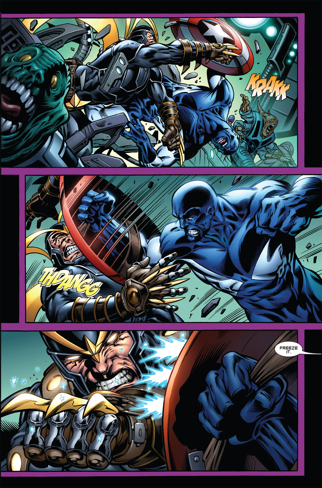Paul Pelletier delivers strong action scenes throughout.