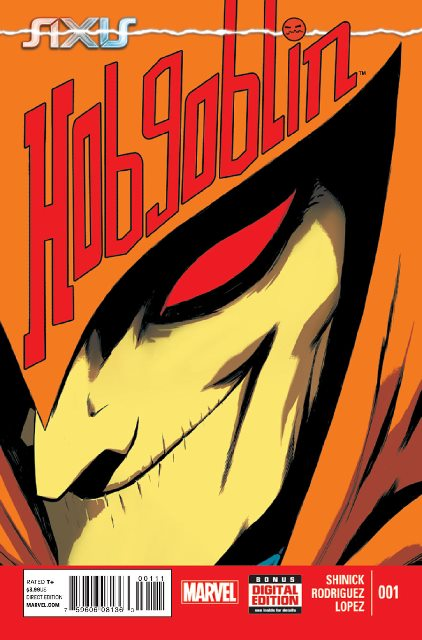 AXIS: Hobgoblin #1 cover