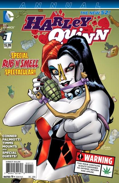 Harley Quinn Annual #1 cover