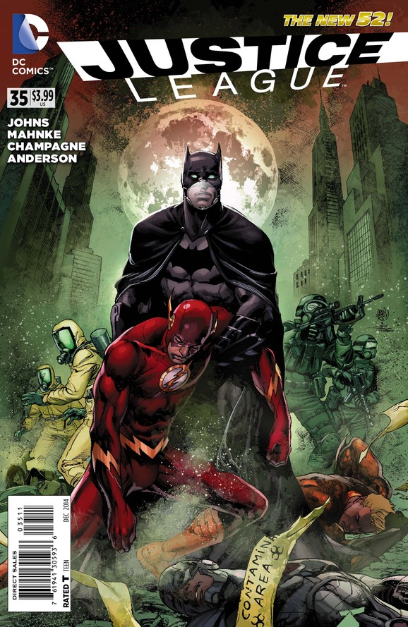 Justice League #35 cover