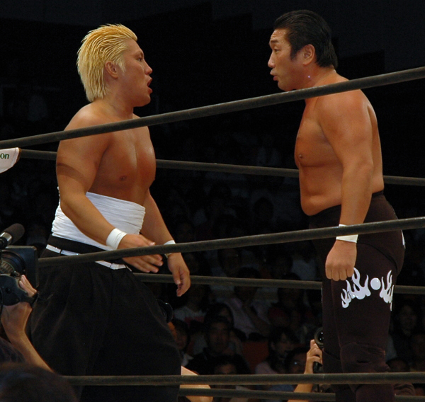 Don Fuji starring down the competition.