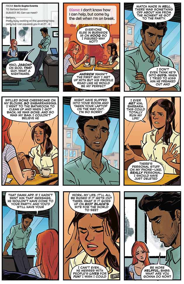 Talking about real-world issues young people face today is a good thing for comics.