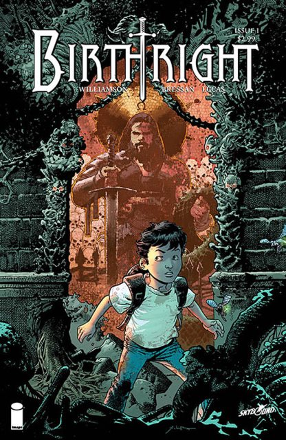 Birthright #1 cover