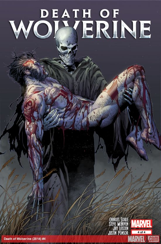 Death of Wolverine #4 cover