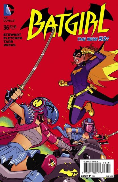 Batgirl #36 cover