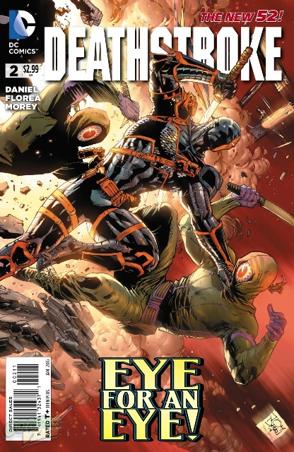 Deathstroke #2 cover