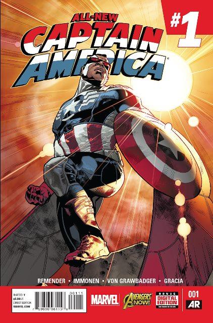 All-New Captain America #1 cover