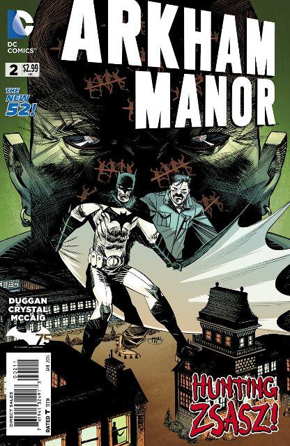 Arkham Manor #2 cover