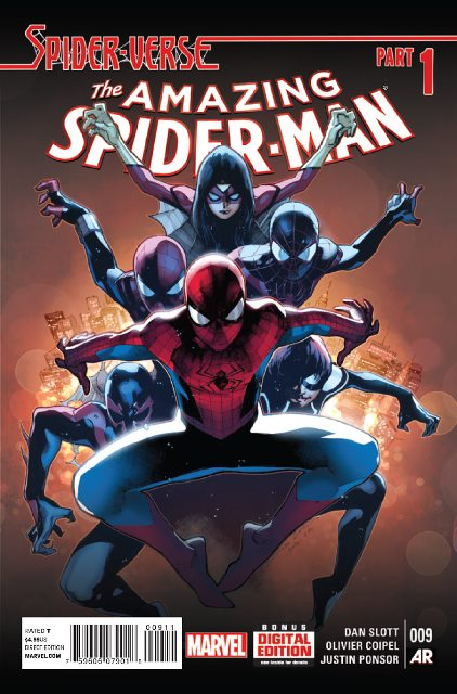 Amazing Spider-Man #9 cover