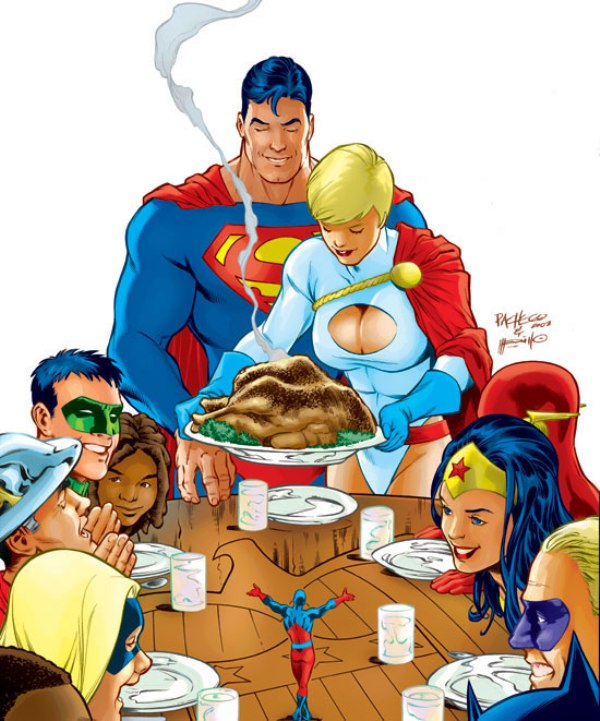 JSA-JLA Thanksgiving