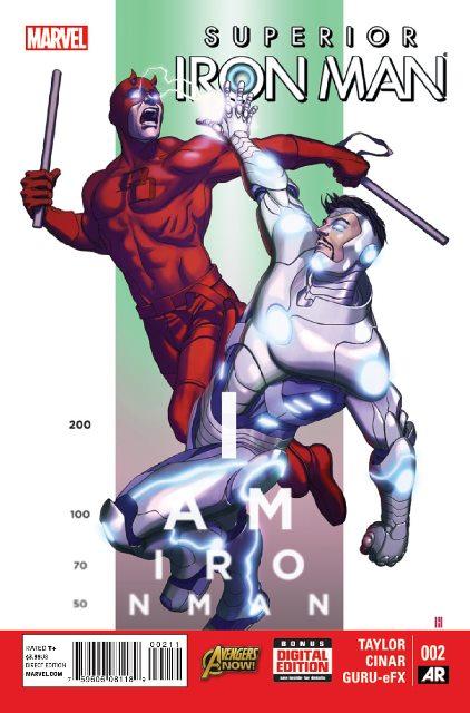 Superior Iron Man #2 cover