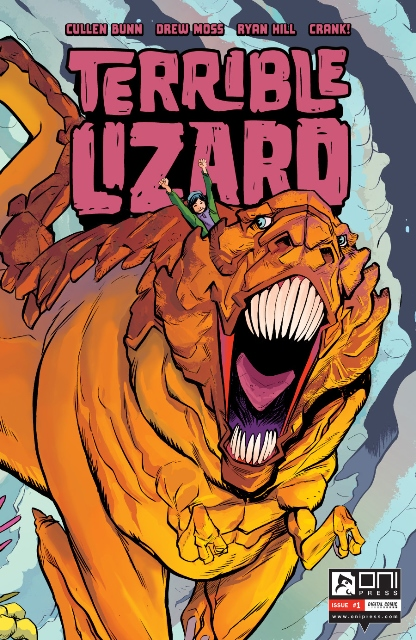 Terrible Lizard #1 cover
