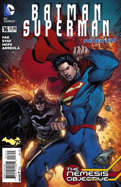 Batman/Superman #16 cover
