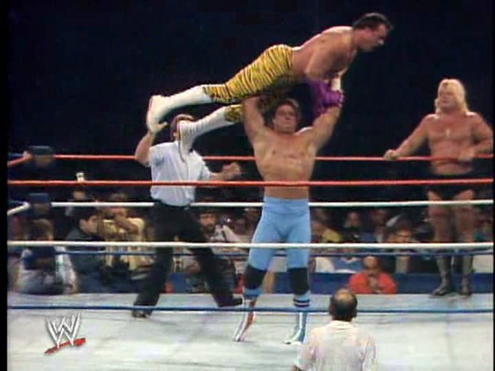 One of the early great tag title feuds in the WWF.