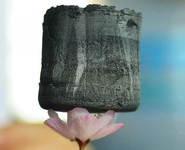 graphene-aerogel-on-flower