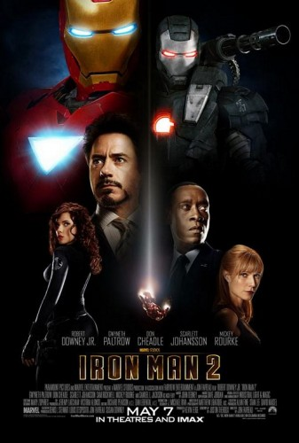 Iron Man 2 led all honorable mentions with 6 points on a third-place vote and three fifth-place votes.