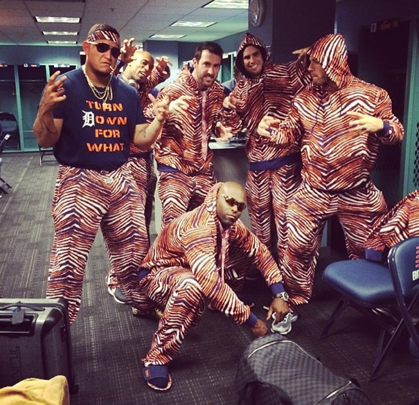 The Curse of the Zubaz was just one of Detroit's issues during 2014