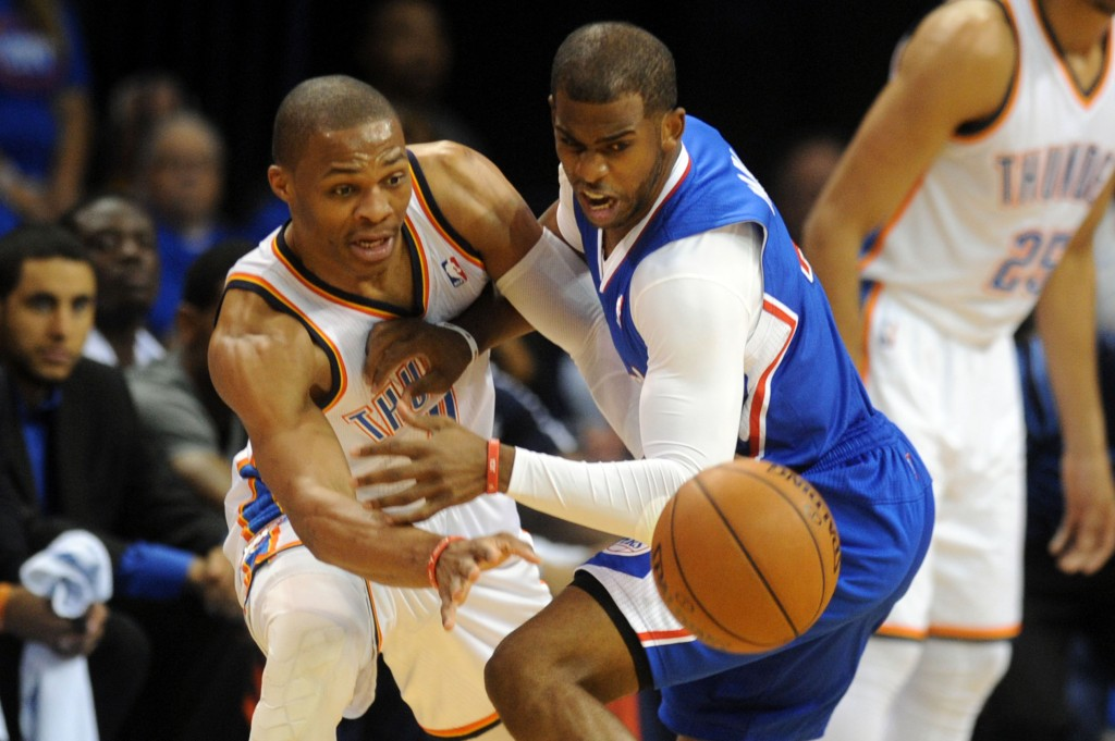 NBA: Playoffs-Los Angeles Clippers at Oklahoma City Thunder