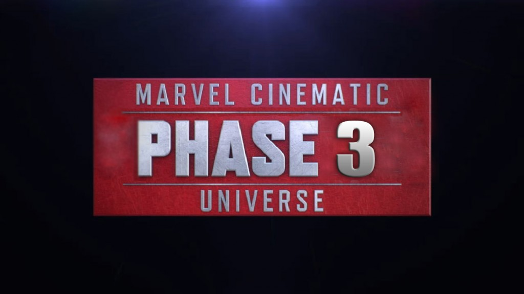 Marvel Phase 3 Logo