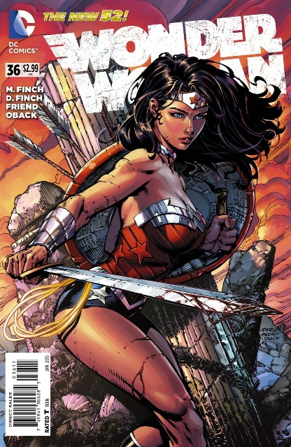 Wonder Woman #36 cover