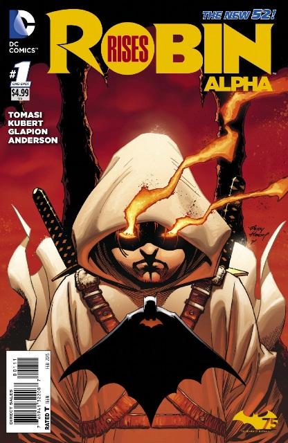 Robin Rises: Alpha #1 cover