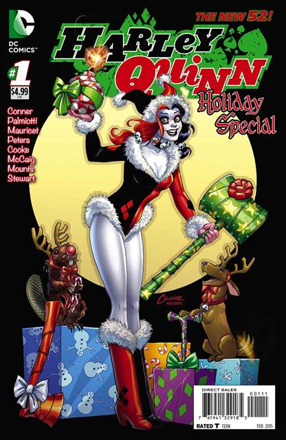 Harley Quinn Holiday Special #1 cover