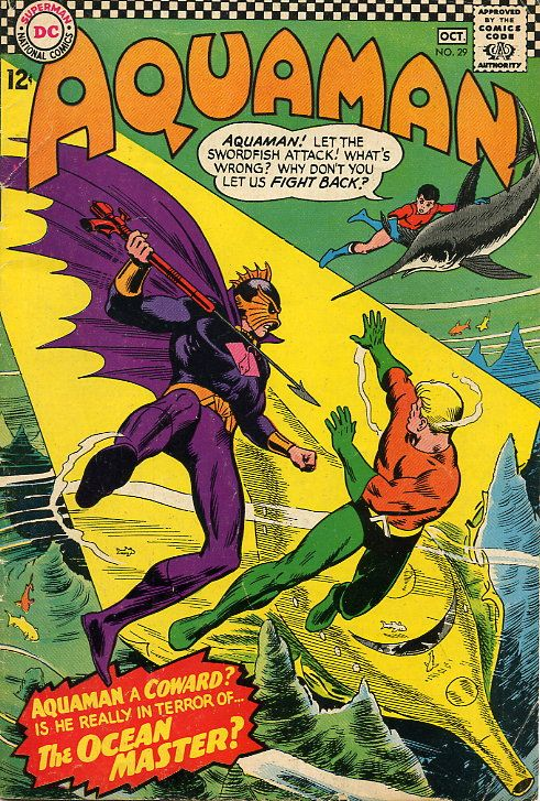 Orm in his original incarnation. Stop being a lousy, stinking, gutless coward, Aquaman!