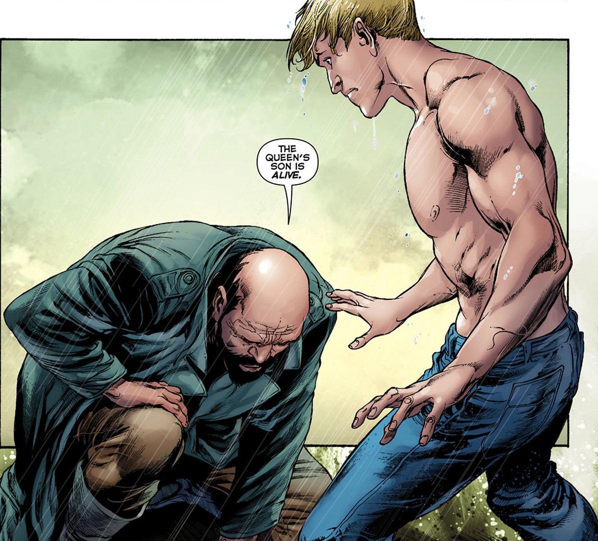 Vulko is the Hulk Hogan of Atlantis.