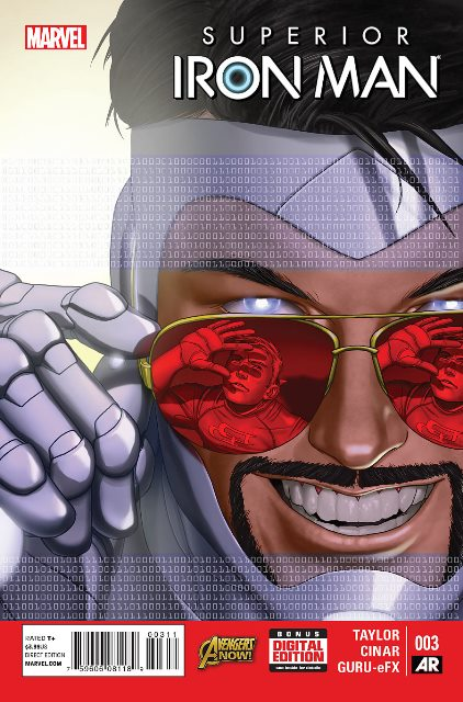 Superior Iron Man #3 cover