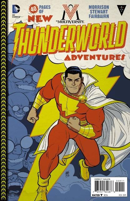 The Multiversity: Thunderworld #1 cover