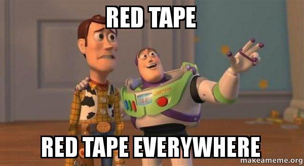 Red Tape meme