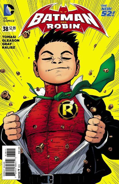 Batman and Robin #38 cover