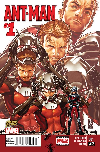 Ant-Man #1 cover