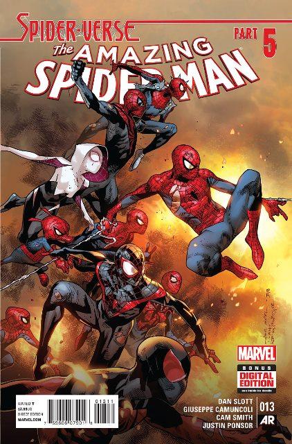 Amazing Spider-Man #13 cover