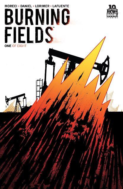 Burning Fields #1 cover