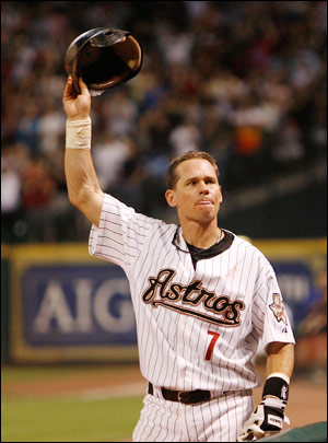 Biggio is one of a few modern-era guys to spend his entire career with one team.