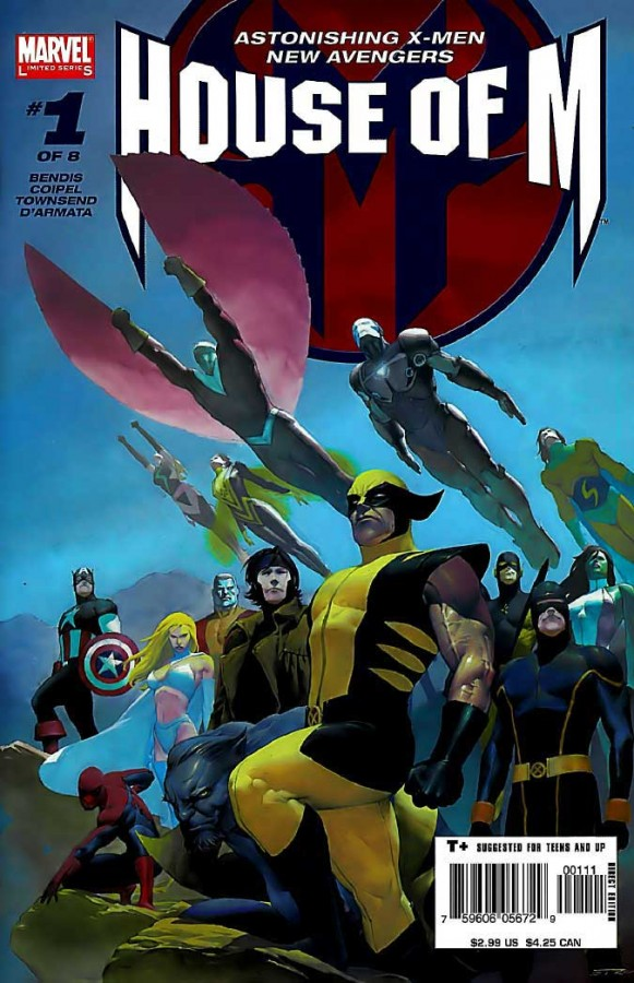 """Remember """"House of M"""" in 2005, when crossovers felt fresh and exciting again? You know, ten years ago."""