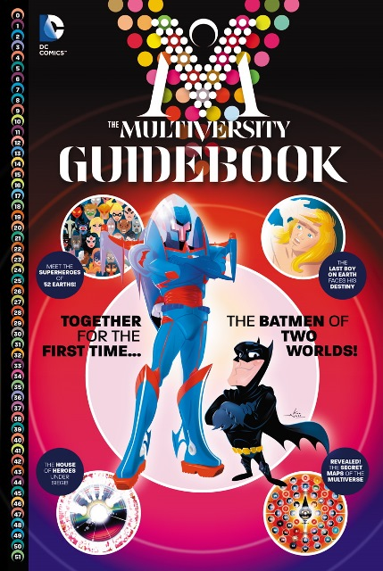 The Multiversity Guidebook #1 cover