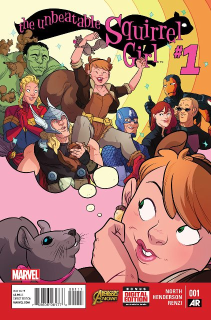 The Unbeatable Squirrel Girl #1 cover