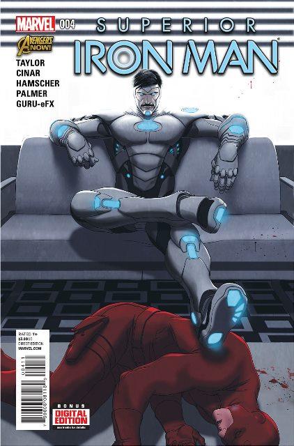 Superior Iron Man #4 cover