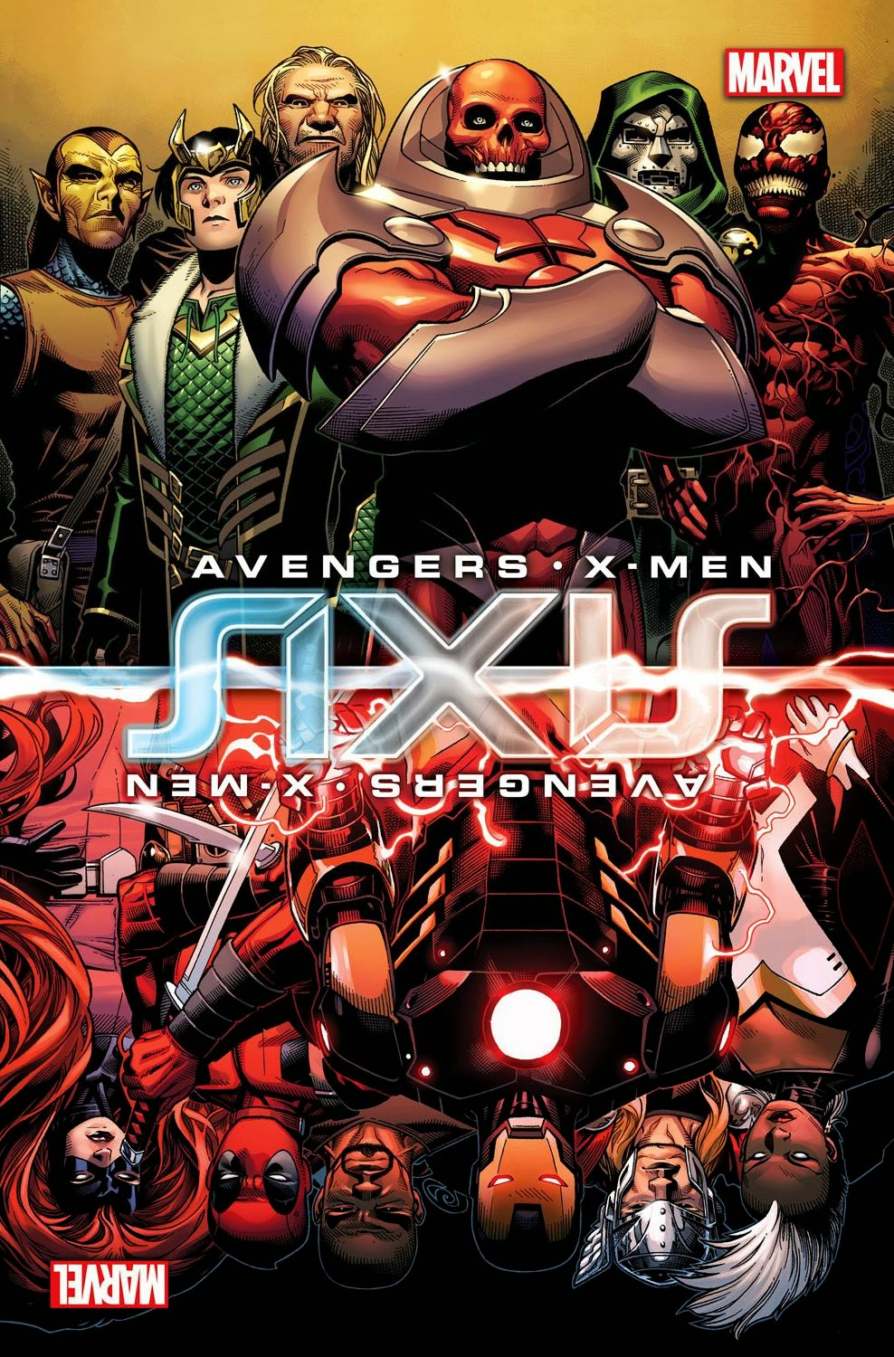 """The Marvel Universe meets Freaky Friday in """"AXIS."""""""