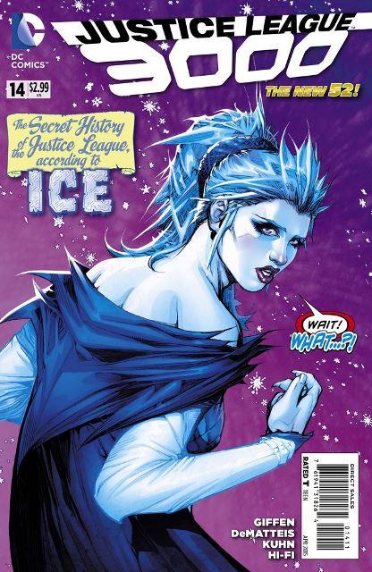 JL 3000 #14 cover
