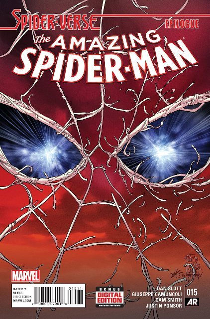 Amazing Spider-Man #15 cover