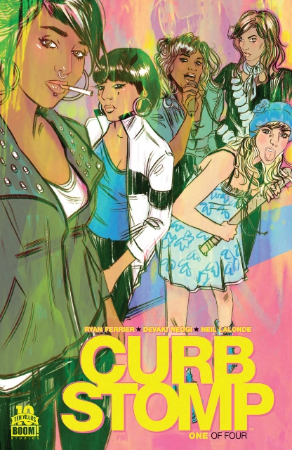 Curb Stomp #1 cover