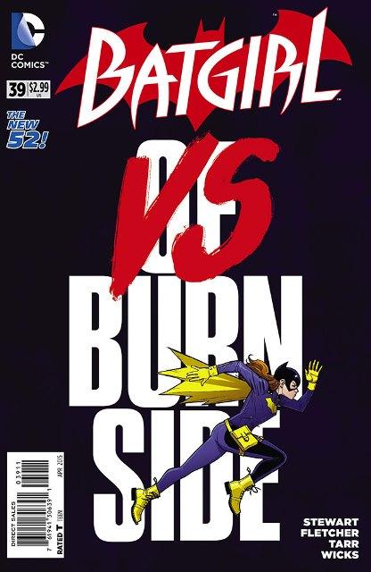 Batgirl #39 cover