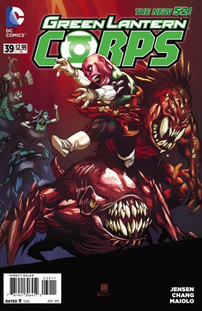 GL Corps #39 cover