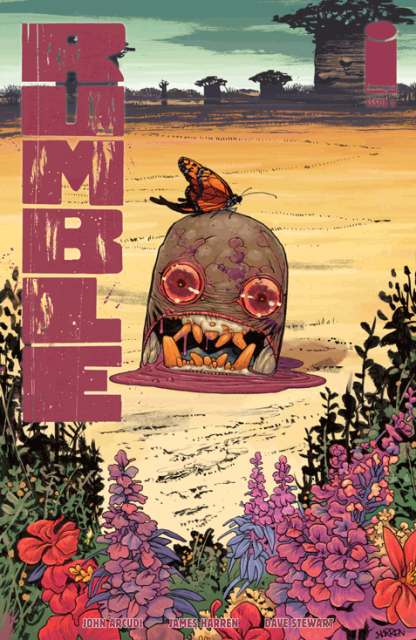 Rumble #3 cover