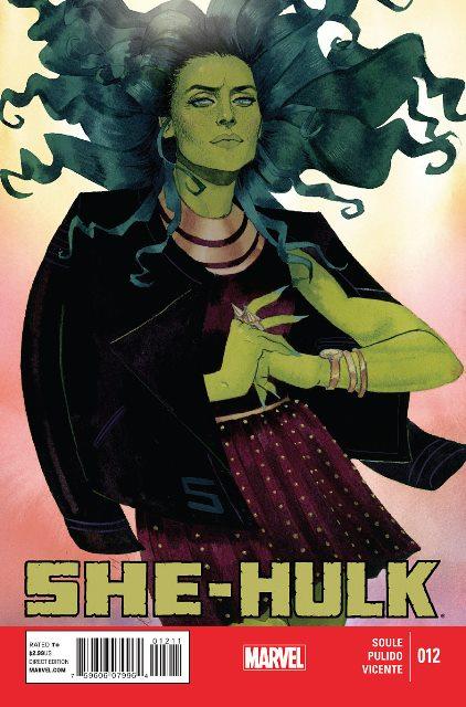 She-Hulk #12 cover