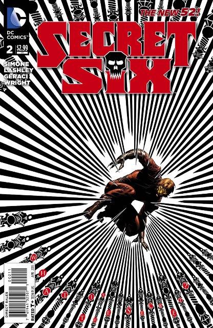 Secret Six #2 cover